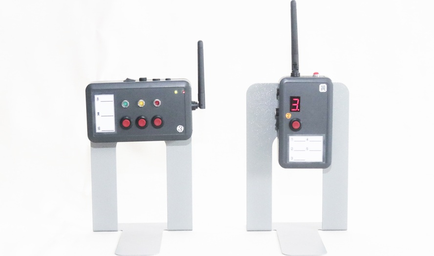 生産実績無線収集機